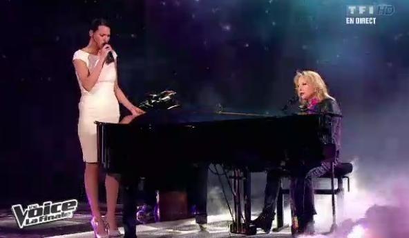 Aude Henneville chante avec Véronique Sanson
