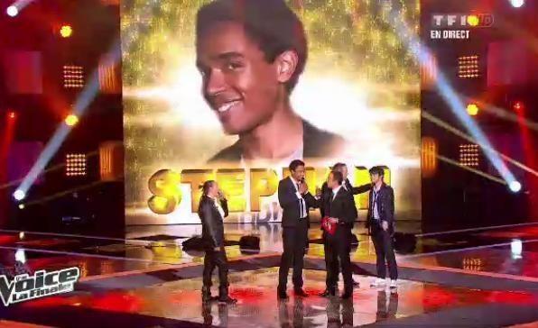 Stéphan Rizon est le vainqueur de The Voice