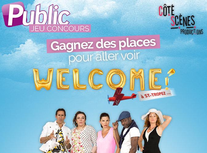 """Jeu concours : Tentez de gagner des places de théâtre pour la première de """" Welcome à St-Tropez """" !"""