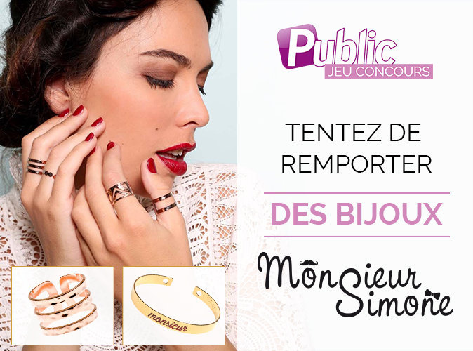Jeu Concours : Tentez de remporter des bijoux de la marque Monsieur Simone !