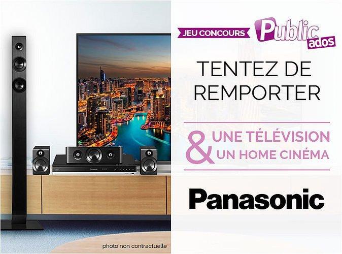 Jeu Concours : Tentez de remporter une Télévision et un Home Cinema Panasonic !