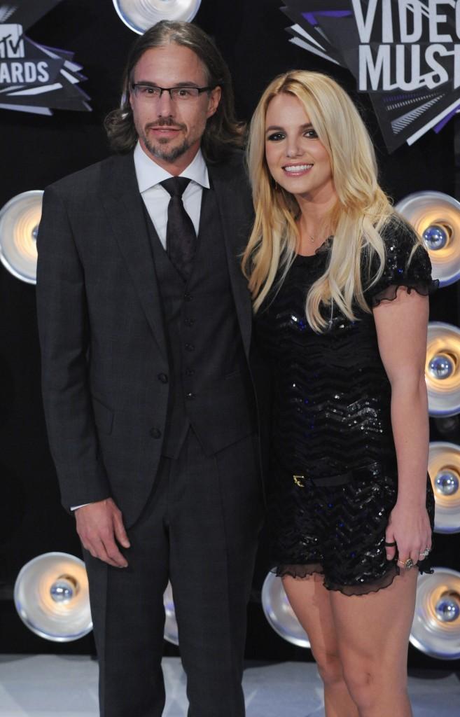 Britney Spears et son fiancé Jason Trawick