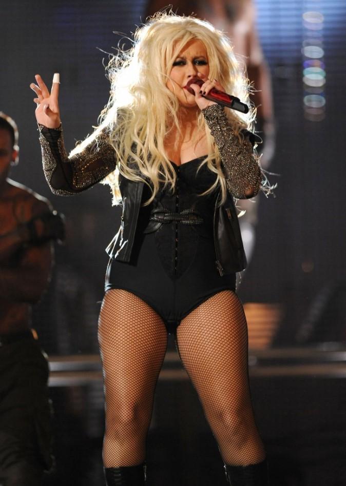 Christina Aguilera a bien changé!