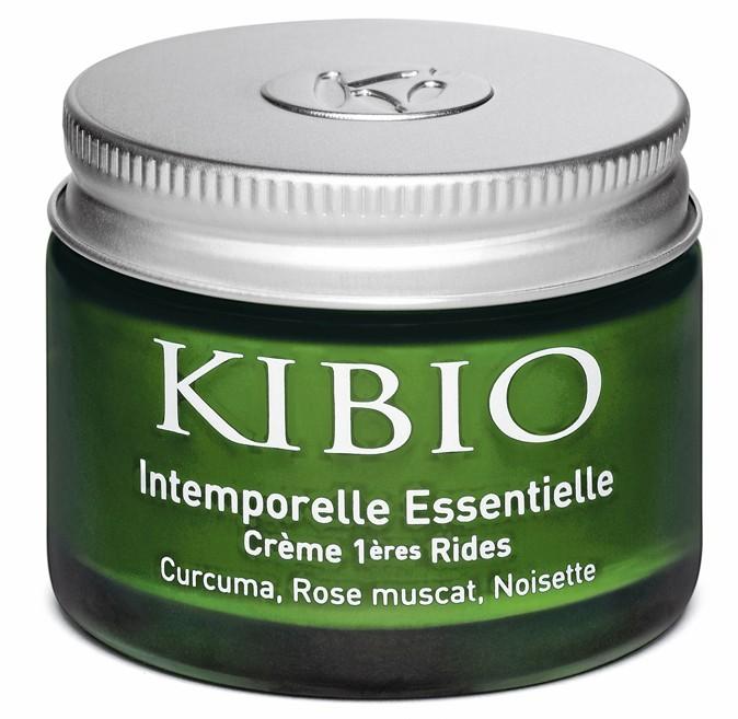 Crème 1res rides, intemporelle essentielle, Kibio. 31,50 €.