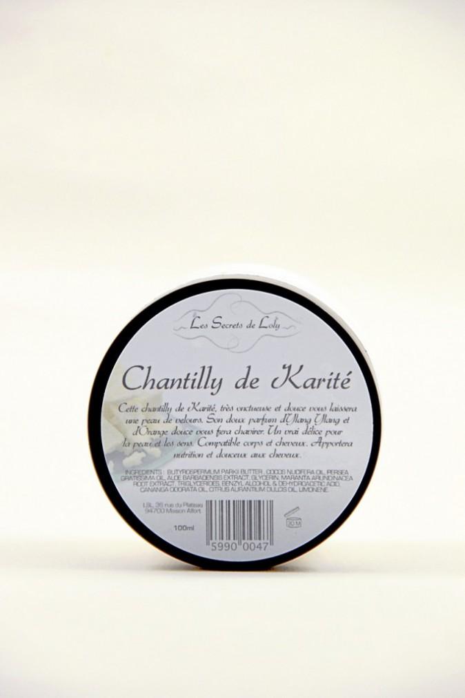 Chantilly 22 € de Karité, Les Secrets de Loly 24 €