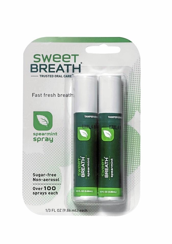 Duo de purificateurs d'haleine, Sweet Breath 3,95 €