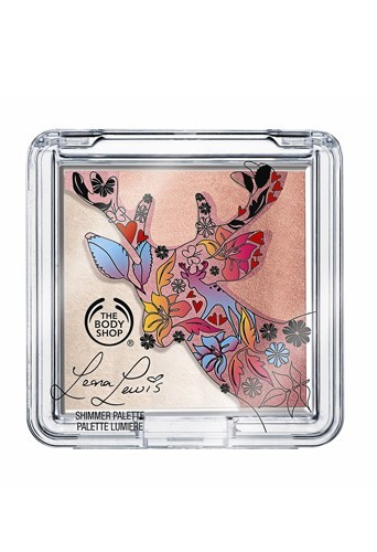 Palette Lumière, collection Leona Lewis pour The Body Shop, 17 €.