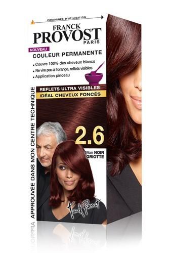 Couleur permanente idéale cheveux foncés, Franck Provost, 6,49 €.