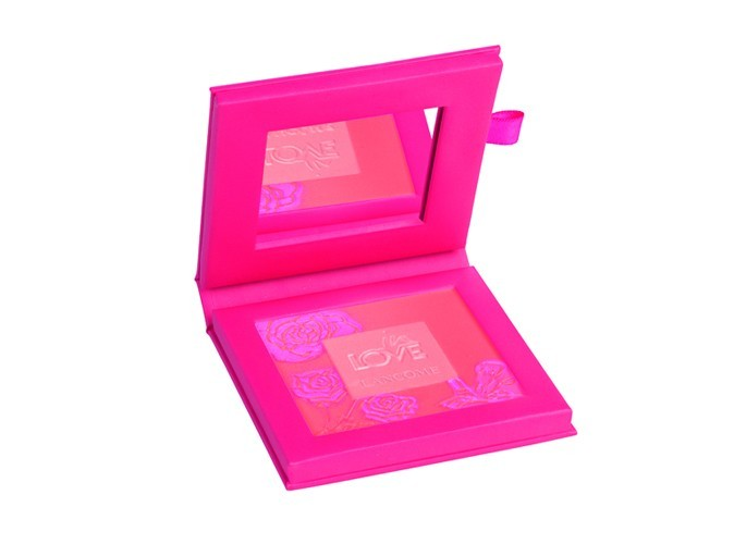 Blush in love, pêche, Lancôme, 49,95 €.