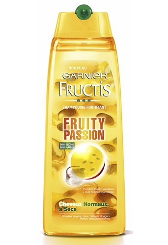 Shampooing, Fruity Passion, Fructis Power, 2,90 €