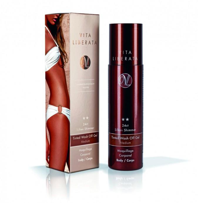 Maquillage corporel, Vita Liberata. 25 €.