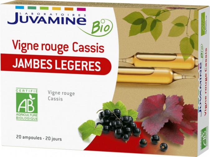 Vigne rouge, cassis, Juvamine. 9,99 €.