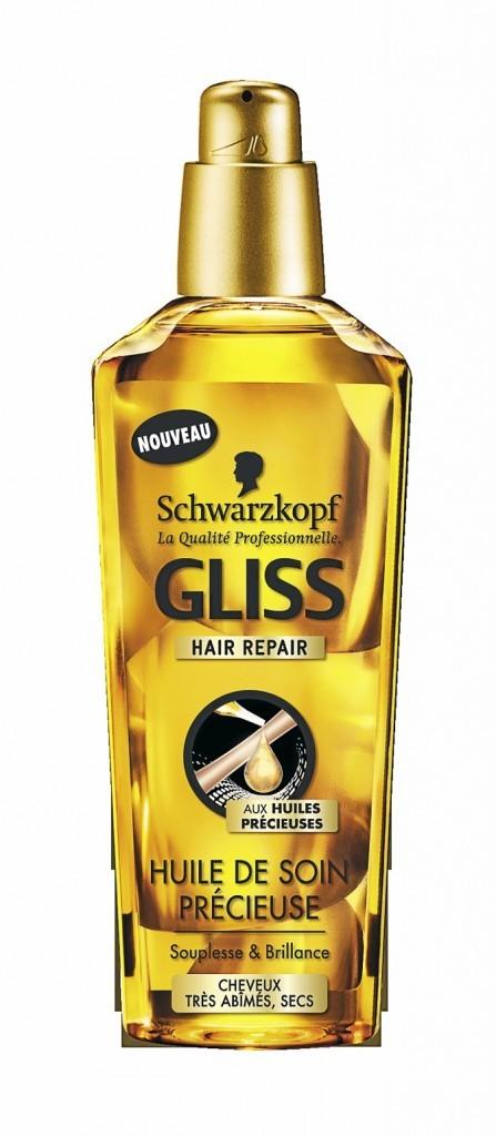 Huile de soin précieuse Gliss, Schwarzkopf 8,99 €