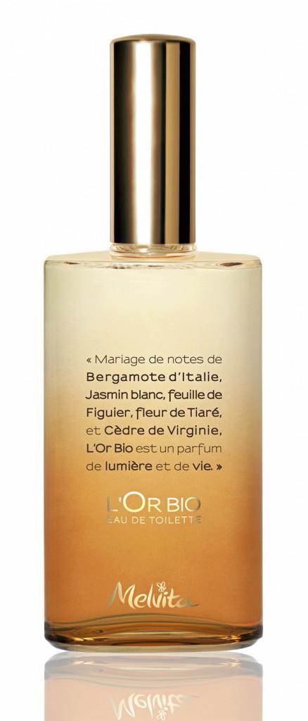 L'Or bio, eau de parfum, Melvita 34,90 € les 50 ml