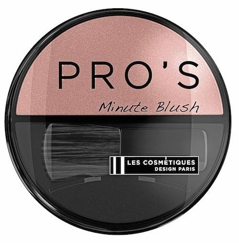Minute Blush, Pro's, Les Cosmétiques Design Paris 6,40 €