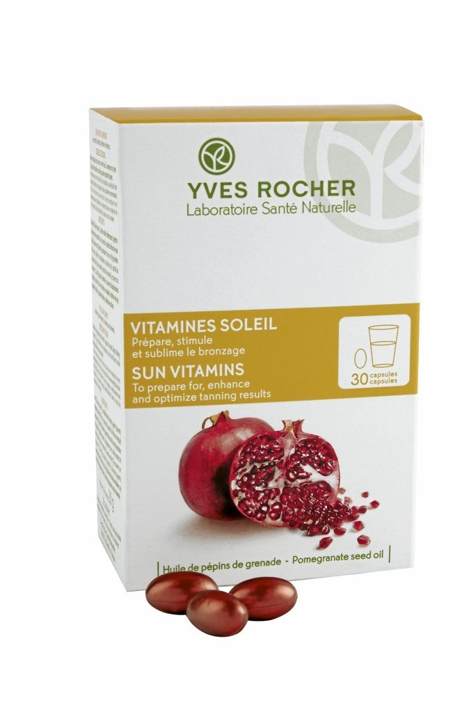 Vitamines Soleil, 30 capsules, Yves Rocher. 22,50€