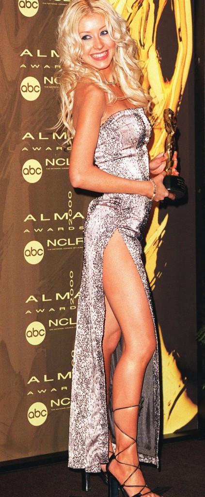 Christina Aguilera, toujours dénudée au début de sa carrière