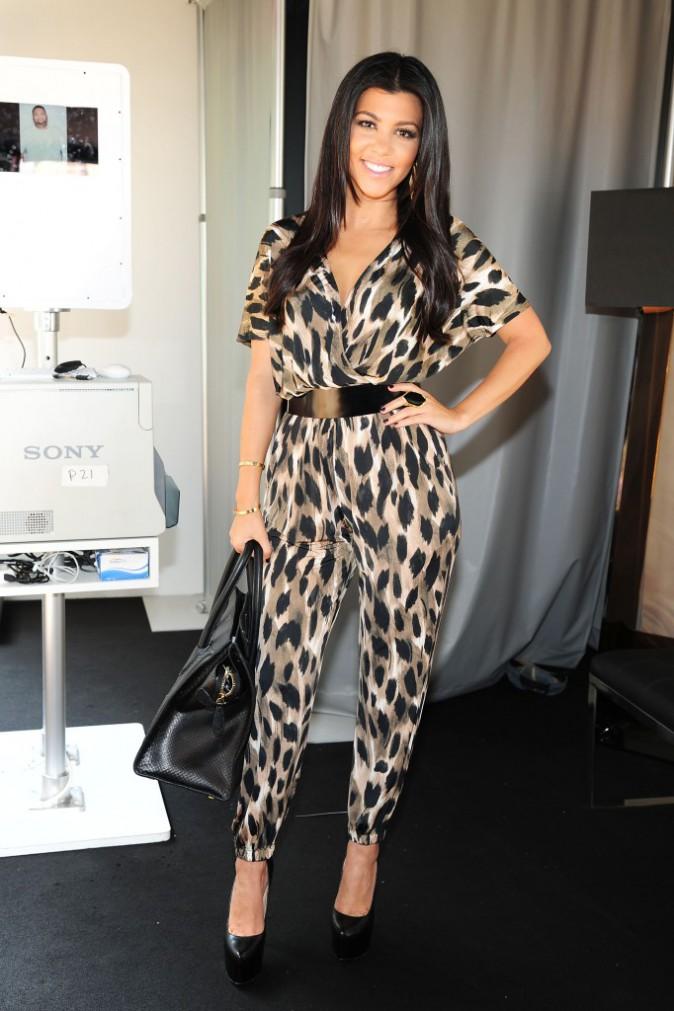 Kourtney Kardashian en 2012