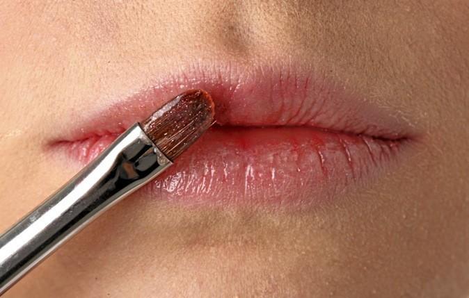 Etape 5 : des lèvres étincelantes !