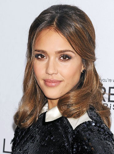 Le make-up preppy de Jessica Alba