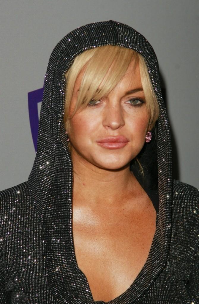 Lindsay frôle l'overdose…De fond de teint cette fois!