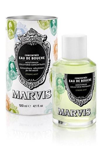 Bain de bouche à la menthe forte, Marvis 14€