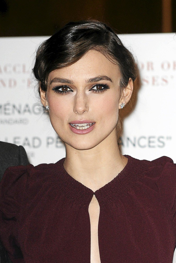 Keira Knightley a des yeux noisettes craquants !