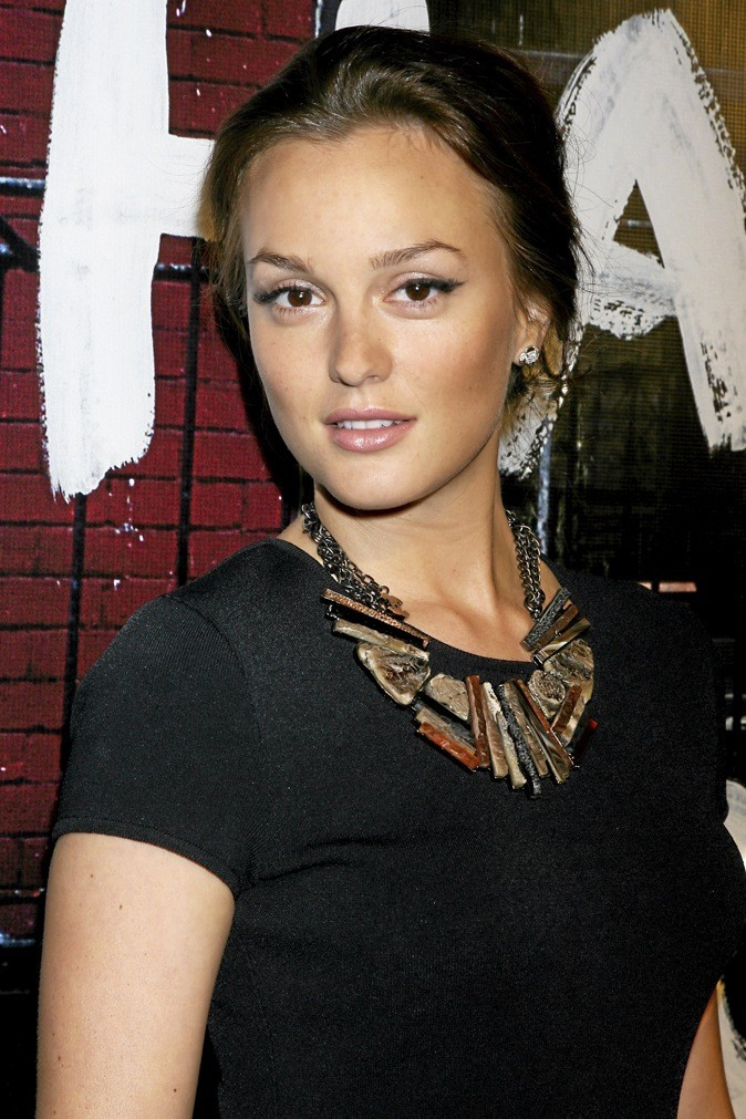 Leighton Meester a les traits fins !