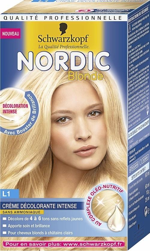 Coloration Blonde Nordic, Schwarzkopf, 9,35 euros