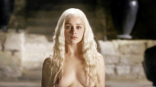 Son personnage, Daenerys dans Game of Thrones