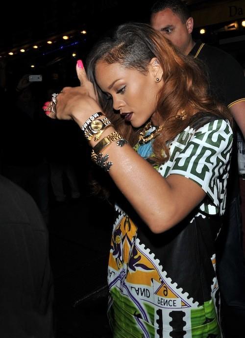 Elles ont osé : Rihanna cette année