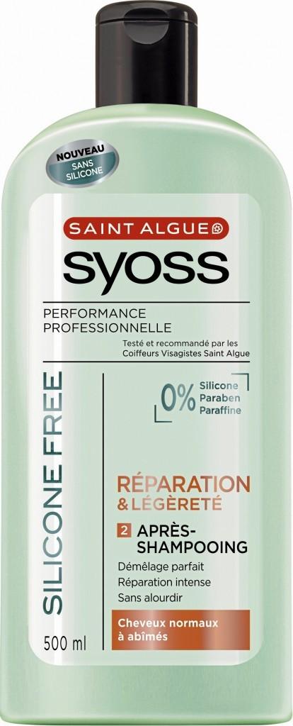 Après-Shampooing. Réparation & légèreté, Saint Algue Syoss, 3,50 €