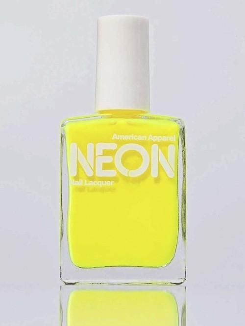 Vernis à ongles Neon, chez American Apparel 11 €