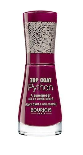 Top Coat Python, Bourjois. 9,95 €