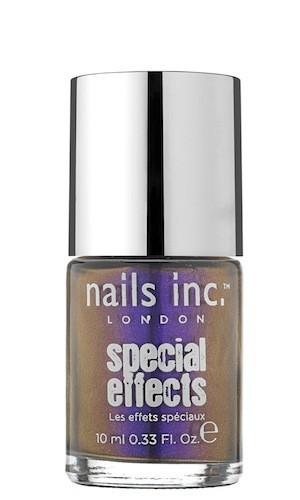 Vernis miroir métallique, Nails Inc. chez Sephora. 14 €.