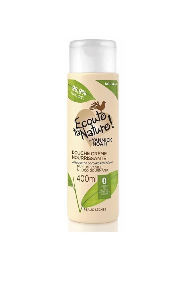 La douche crème nourissante Ecoute ta nature à moins de 10 euros !