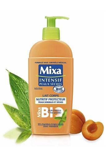 Conseils beauté en hiver : un lait hydratant Mixa