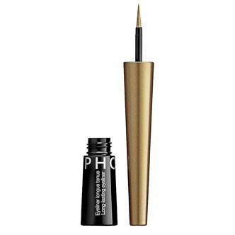 Testez l'eye-liner longue tenue Metallic Gold