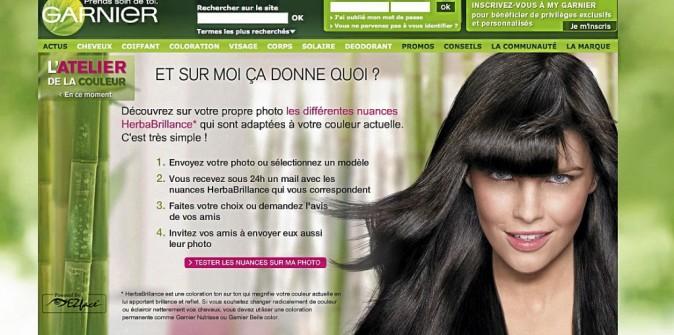 Bon plan beauté du web : L'atelier coiffure et couleur de Garnier