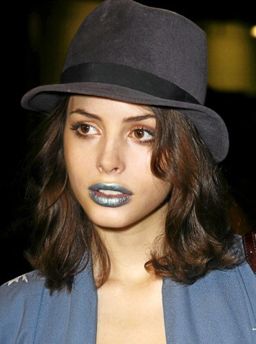 Les lèvres colorées de Charlotte Kemp Muhl