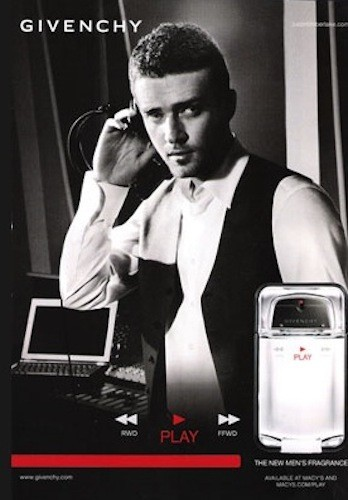 Justin Timberlake pour Givenchy