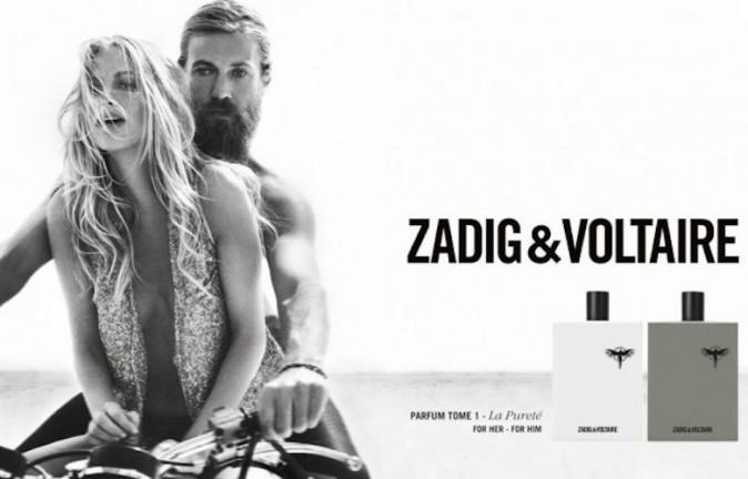 Poppy Delevigne pour Zadig & Voltaire