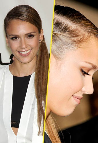 Jessica Alba de face ou de profil ?