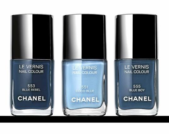Vernis à ongles, les Jeans de Chanel, 22 € l'un. En vente en mars.