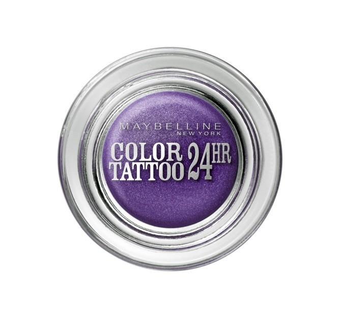 Fard à paupières mauve Color Tatoo 24HR, Gemey-Maybelline 9,40 €