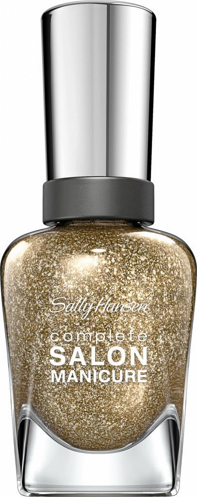 Glitter : Vernis Golden Rule, Sally Hansen 10,90 €