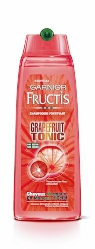 Shampooing fortifiant Grapefruit Tonic, Garnier Fructis 2,90 €