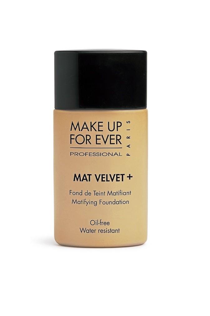Fond de teint matifiant, Mat Velvet +, Make Up For Ever