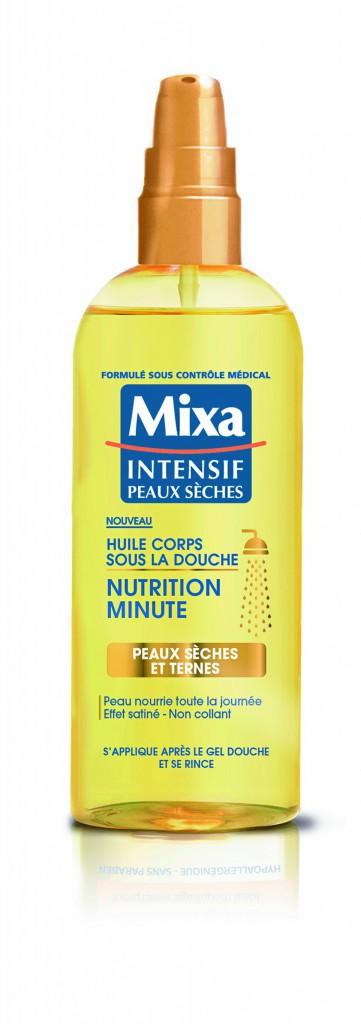 Huile corps sous la douche, nutrition minute, Mixa 5,85 €
