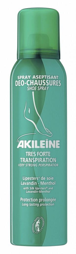 Spray poudre asséchant pour les pieds et chaussures, Akiléine, 11,60 €